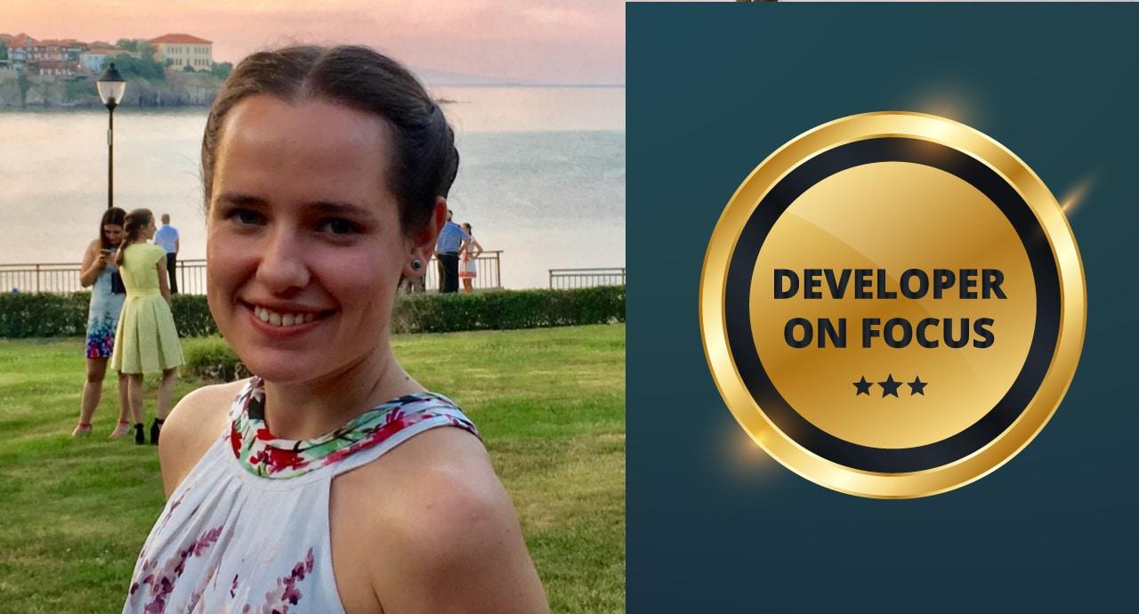 Иванина Илчева, JavaScript Developer в Bosch Software Innovations