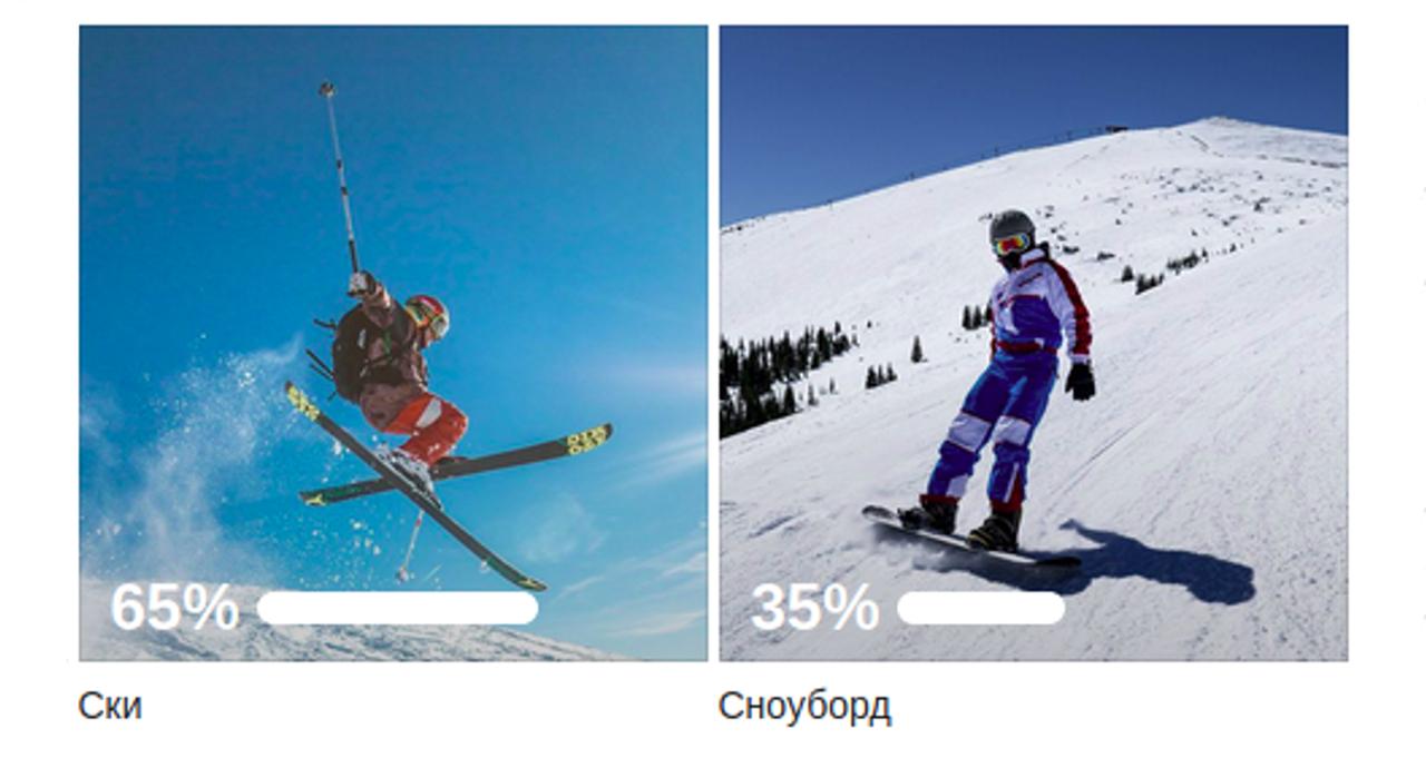 Резултати: Ски или Сноуборд
