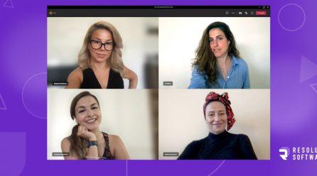 UX/UI дизайн екипът на Resolute Software с художествен усет към нуждите на своите клиенти