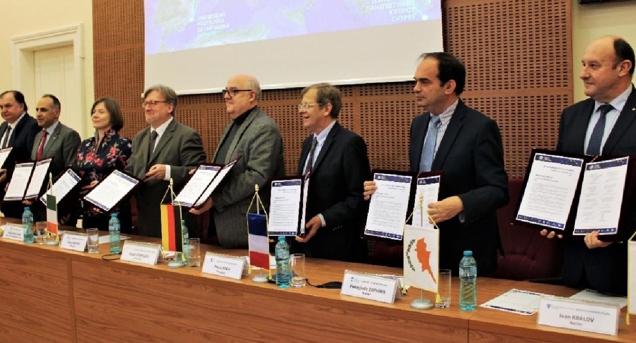 Проектът за образователно партньорство EUt+ бе одобрен от ЕК