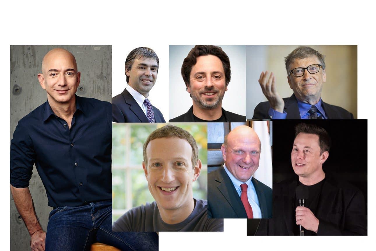 Най-богатите #Tech хора са учили компютърни науки или програмиране