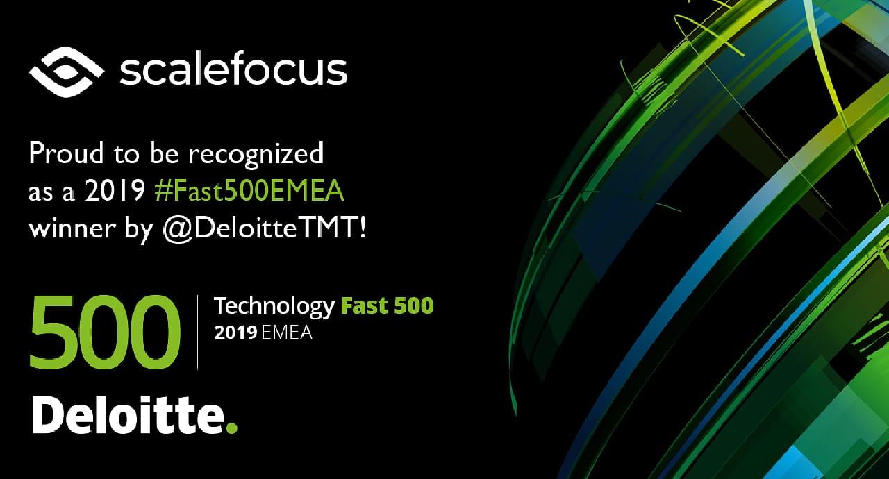 Scalefocus в класацията Deloitte Technology Fast 500 за трети пореден път