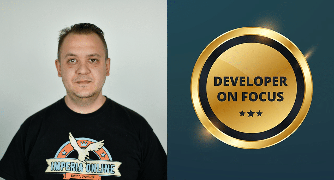 Александър Василев, Lead Developer в Imperia Online JSC