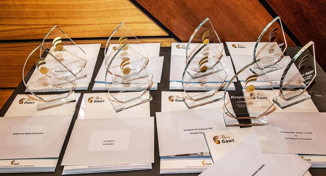 """Първи кандидатури за """"Наградите на БАИТ"""" за 2020 г."""