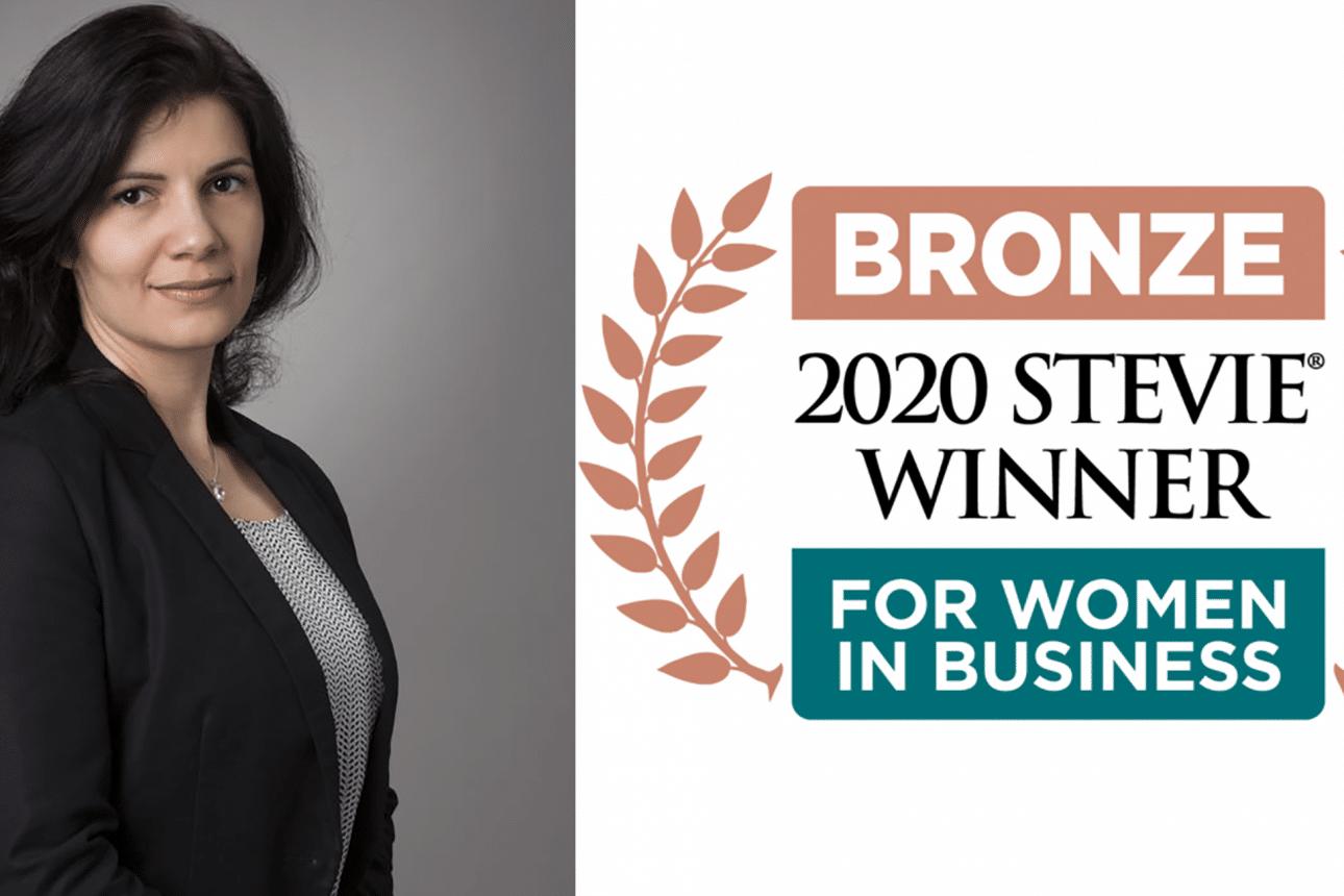 """Лилия Месечкова от Progress с награда за """"Жени в бизнеса"""" в САЩ"""