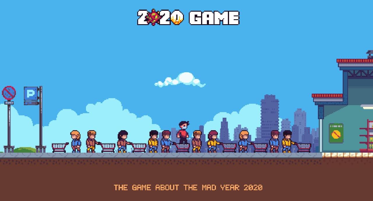 Преживейте отново 2020 г. със side scroller играта 2020 Game