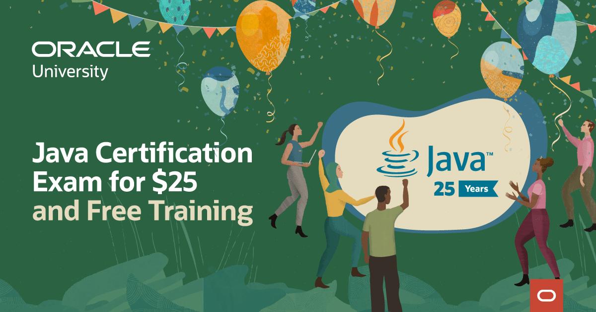Java обучение и сертификация за $25 вместо $245