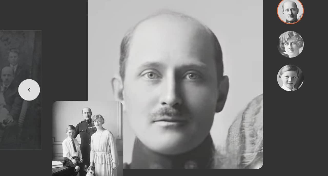 Сайтът MyHeritage демонстрира смущаващ инструмент за анимиране на снимки