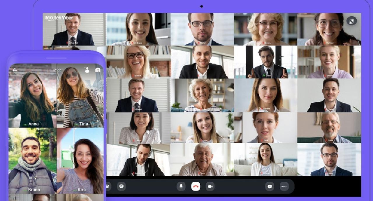 Viber разширява броя на участници във видео разговор до 30 души
