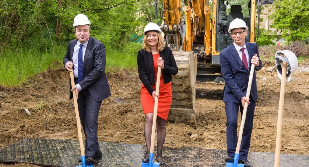 Институт GATE положи първа копка на новата си високотехнологична сграда