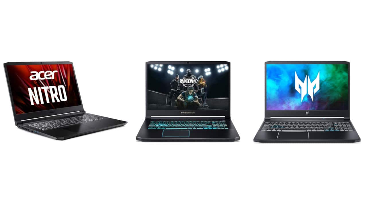 Ново поколение процесори в геймърските лаптопи на Acer