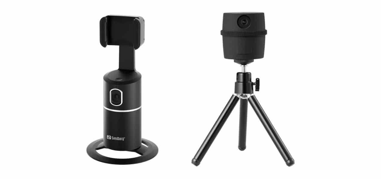 Изкуствен интелект следва обекта на заснемане в камери и стойки за смартфони